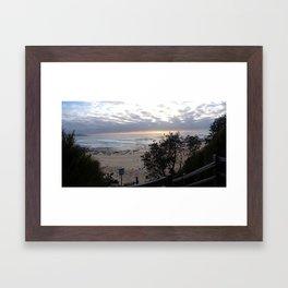 6.18am  Framed Art Print