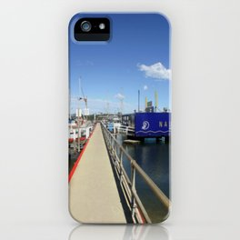 Pier at Lakes Entrance iPhone Case