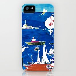 The Marina, Southport, AUSTRALIA        by Kay Lipton iPhone Case