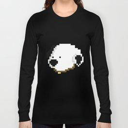 White Doggy (Pixel art) Long Sleeve T-shirt