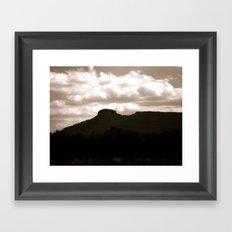 Pilot Mountain, NC Framed Art Print