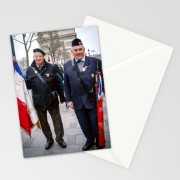 Parisian Mugshots - Proud Veterans (Gueules de Parisiens) Stationery Cards