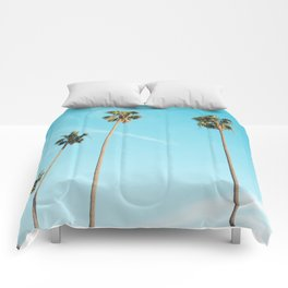 Palm Tree Sunshine Comforters