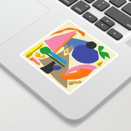 Abstract morning Sticker