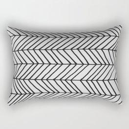 Free Form Zig Zag Rectangular Pillow