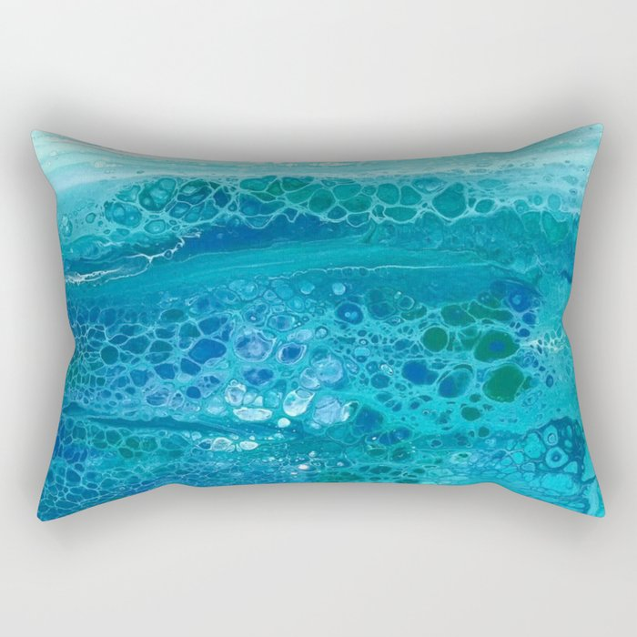 Colors of the Sea No.1 Rectangular Pillow
