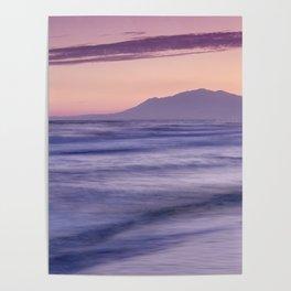 Dream sunset. Marbella sea... Poster