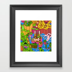 SMW World Framed Art Print