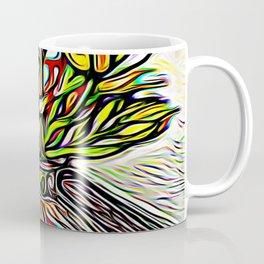 Shadow Flowers Coffee Mug