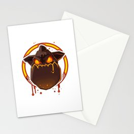 Lava Hound Stationery Cards