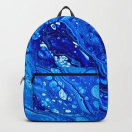 Blue Splash Backpack