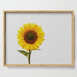 Sunflower Still Life Serving Tray