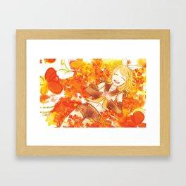 Kokoro Framed Art Print