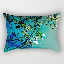 Spring Synthesis IV Rectangular Pillow