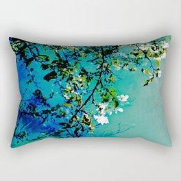 Spring Synthesis IV Rectangular Pillow