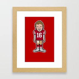"""The Victrs """"Joey Ice"""" Pro-Toon Framed Art Print"""