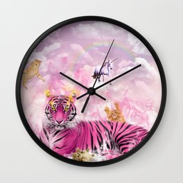 Kitty Queen Wall Clock