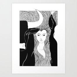 Tauromaquia Art Print
