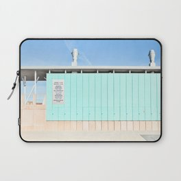 Mood In Blue - House and Architecture Laptop Sleeve