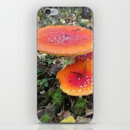 Orange rules here! iPhone Skin