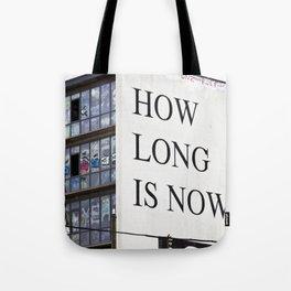 HOW LONG IS NOW - EAST BERLIN Tote Bag