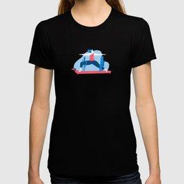 Yoga Girls 1 The She Warrior Pose T-shirt