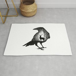 THE RAVEN AND THE DEER Rug