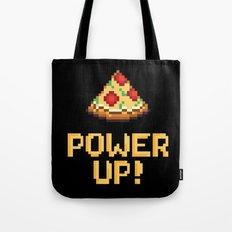 pizza power up Tote Bag