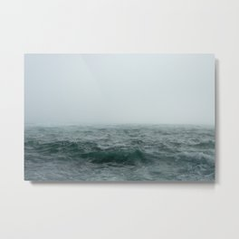 Choppy Seas Metal Print