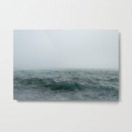 Choppy Seas Metal Print
