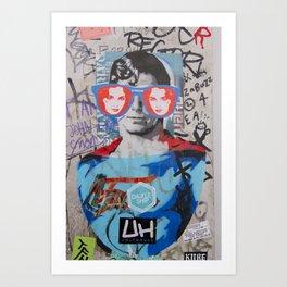 BRICK LANE ART Art Print