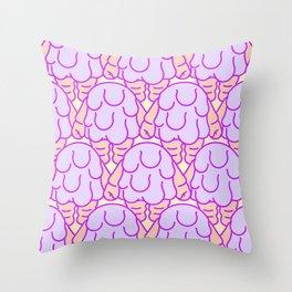 Blobby Babies Throw Pillow