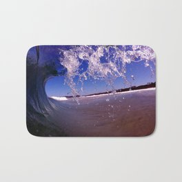 Blue Beach Bath Mat