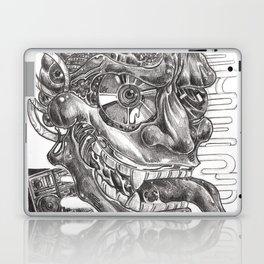 Sketching of hannya  mask Laptop & iPad Skin