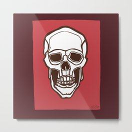 Mannequin of Death (red palette) Metal Print