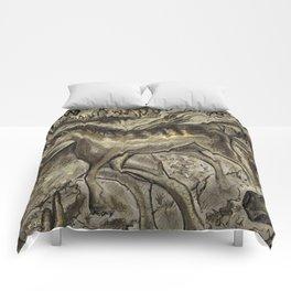 Wild Horse Cavern Comforters