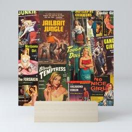 Pulp Fiction 3 Mini Art Print