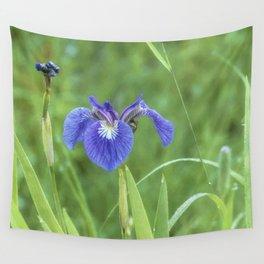 Iris at the Marsh Wall Tapestry