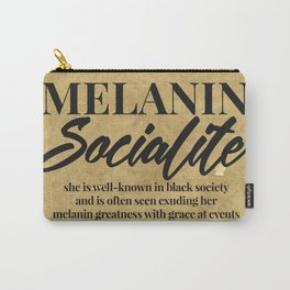 MELANIN SOCIALITE Carry-All Pouch