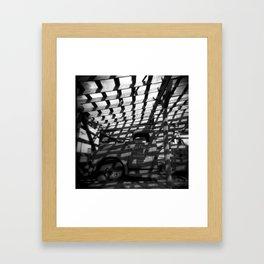 Quarter Tank O' Gas Framed Art Print