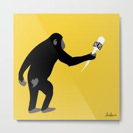 Monkey Business! Metal Print
