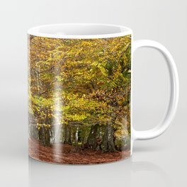Colorful autumnal forest Coffee Mug