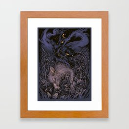 Stardust Framed Art Print