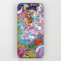 sylveon iPhone & iPod Skins featuring Sylveon Watercolor by Theresa Felice