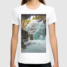 Angel Falls in Maligne Canyon, Canada T-shirt