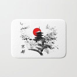 Kyoto - Japan Bath Mat