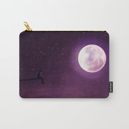 Jimin Serendipity Talking to the Moon Purple Version Carry-All Pouch