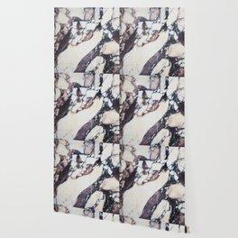 Mauve marble classic Wallpaper