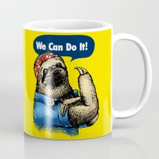 We Can Do It Sloth Mug