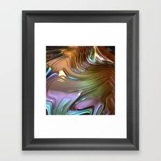 899 Fractal Framed Art Print